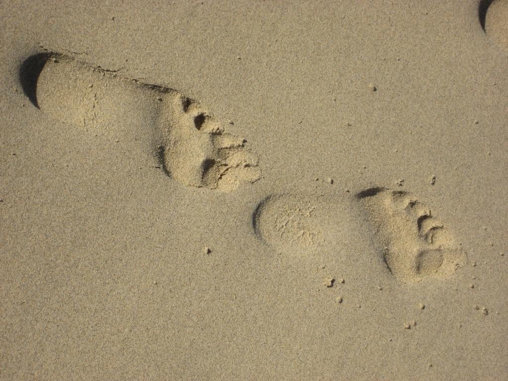 Füße und fester Stand